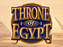 Throne Of Egypt в зале - правила ставок в аппарате